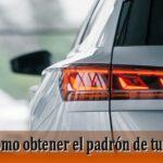 Aprende cómo sacar el padrón de tu vehículo fácilmente