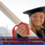 Conoce como obtener tu certificado de estudios anual del Mineduc fácilmente
