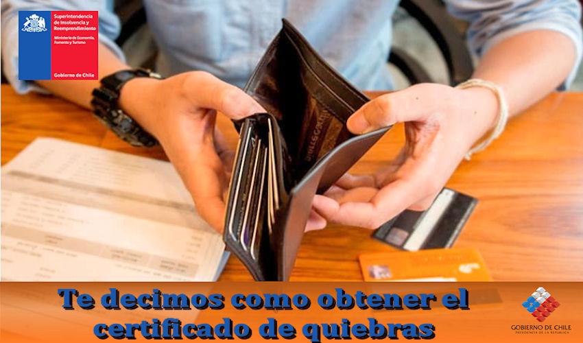 Certificado de quiebras
