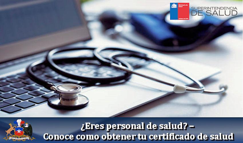 Conoce como obtener tu certificado de salud