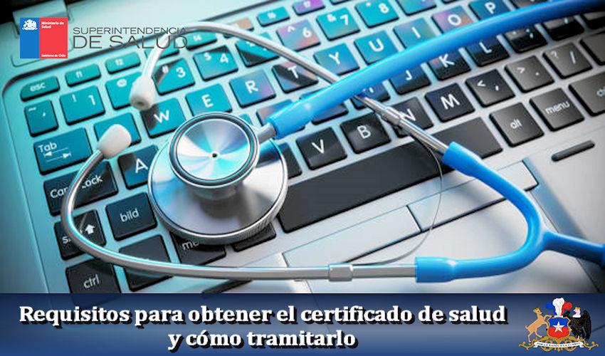 Requisitos para obtener el certificado de salud y cómo tramitarlo